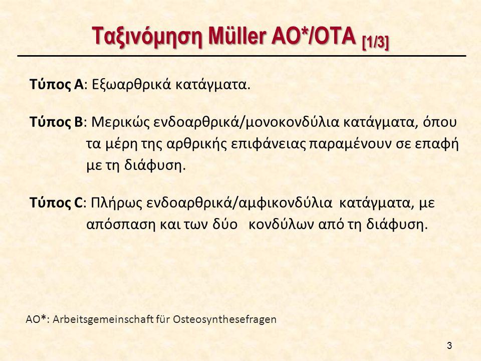Ταξινόμηση Müller AO*/ΟΤΑ [2/3]